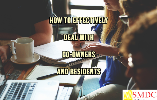 dealing with co-owners and residents