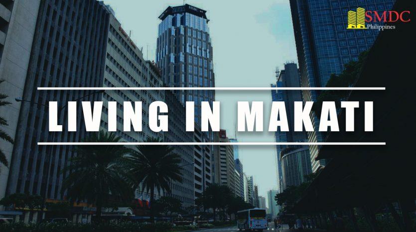 living in makati