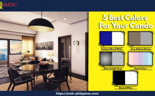 5 colors for your condo unit